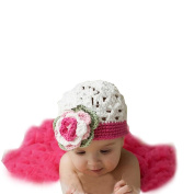 Sankuwen Baby 0-6 Months Photography Crochet Hat + Skirt Outfit Set