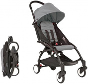 Babyzen YOYO Stroller - Black - Grey by Baby Zen