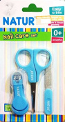Natur Nail Clippers Set with Scissors and File