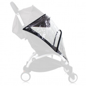 Weather Shield, Rain Cover, Plastic Clear Netting for Babyzen YOYO Stroller