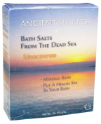 Ancient Secrets - Dead Sea Mineral Bath Salts Unscented - 0.5kg. Clearance Priced