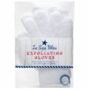 Le Spa Bleu White Exfoliating Gloves