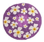 Purple Shower Cap Shower Cap - Floral