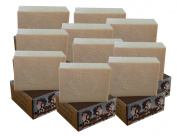 10 x CARIA Pure Castile Olive Oil Soap Bar Traditional Village Turkish Natural Handmade Fragrance Free