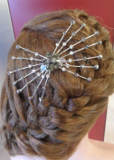 Hair Accessories Hair Comb Silver Sparks