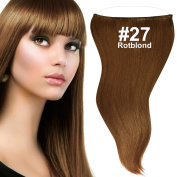 'Flip In Hair Extensions/Red Blond (# 27), 50 cm, 100 g