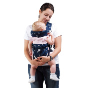 Kangaroobaby® Strap Comfortable Six Functions Sling Wrap Carrier Fits to Under 16kg Baby Blue
