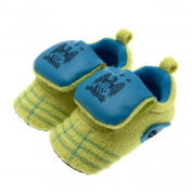 Baby Footwear - Official Manchester City FC Baby Neon Crib Boots (9 - 12 Months) - Novelty Baby Football Gift Ideas