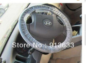 Bulkcosts(TM) In stock 100Pcs Car Disposable Auto Plastic Steering Wheel Covers