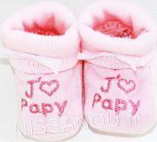 """Nissanou """"Rs-PaPi"""" Baby Booties"""