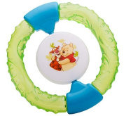 Rattle Cool teether water filled Disney Winnie Pooh green ab 3 Months