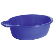 Wash Basin Blue 7 Litre Oval with Soap Dish