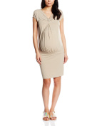 Pietro Brunelli Women's Bodycon Plain Short Sleeve Maternity Dress