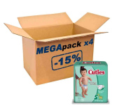 Mega Pack Cuties by First Quality® 108 12/