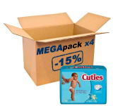 Mega Pack Cuties by First Quality 144 7/1