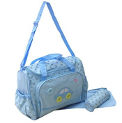 XXL Set of 3Light Blue Baby Changing Bag for on the go Selection of Colours
