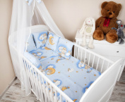 Baby Cot Bed Bumper with 210 cm Style