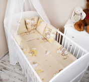 Baby Cot Bed Bumper with 210 cm Design