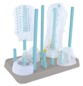 Drying Stand for 6 Baby Bottles and Accessories Assorted Colours