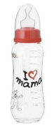 "BIBI SWISS ANTICOLIC BABY BOTTLE 250ML, ""I LOVE MAMA"""