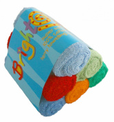 Bright Bots Boy Combo Terry Towelling Nappy Squares