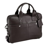 Bugatti Brisbane Italian Leather Briefcase