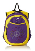 O3 Kids Pre-School All-In-One Backpack With Cooler Peace Flower