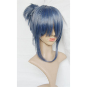 LanTing NO.6 Nezumi Blue Short Cosplay Party Fashion Anime Human Costume Full wigs Synthetic Hair Heat Resistant Fibre hair