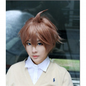 LanTing Danganronpa Dangan-ronpa Chihiro Fujisaki brown Cosplay Party Fashion Anime Wig hair