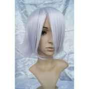 LanTing Pandora Hearts Blake Purple Short Cosplay Party Fashion Anime Wig hair
