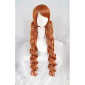 LanTing LOVE BULLET YURI KUMA ARASHI Yurigasaki Lulu clip brown long Cosplay Party Fashion Anime Wig hair