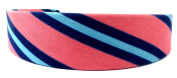 Headband in Classic Jeans Look Stripes Pink, Blue, 11