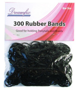 Dream Fix Rubber Band Rubber Bands 300 Pieces Black