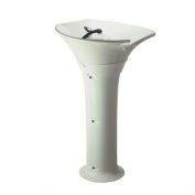 'Sea Wash Stand White White Ceramic Basin