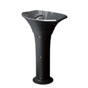 'Wash Stand Sea Black Ceramic Basin