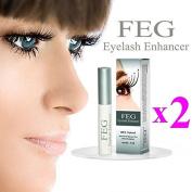 2X FEG Serum | Original | for Eyebrows & Eyelashes | Eyelash Enhancer 3ml