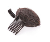 Charming Pompadour Fringe Bump It up Volume Inserts Do Beehive Hair Styler Clip Stick Comb Insert Tool Magic Hair Base Comb Hair Accessories