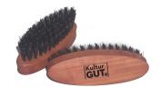 Beard brush pear wood