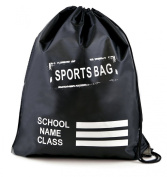 Kids Plain Drawstring Sports Gym Pump RuckSuck PE Bag