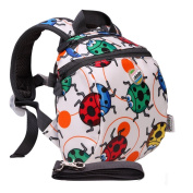 Moonwind Waterproof Kids Toddler Harness Backpack Children Baby Safety Bag with Leash