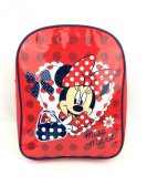 QUALITY MINNIE MOUSE GIRLS KIDS BACKPACK RUCKSACK NURSERY SCHOOL BAG RED NEW