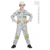 XL Boys Army Soldier Costume Outfit for Soldier Military Fancy Dress Kids 11-13 158cm