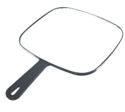 Head-Gear Professional Hairdressing Square Black Styling Mirror