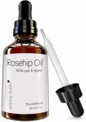 Poppy Austin® Organic Rosehip Oil. 100% Pure, Cold Pressed, Responsibly Sourced and Hand Made. To Soften, Heal and Hydrate Your Entire Body. Best for Dry Skin, Fine Lines and Acne Scars. Six months supply in one HUGE 60ml bottle