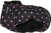 Dog in Season / Heat Nappy Pants / Size Medium Regular / Black Pink Dots