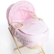 Isabella Alicia Designer Spare Replacement Moses Basket Dressing, Covers, Bedding Sold By H & H Traders