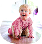 BABYMOP - Your Baby Helps Cleaning the House. Great Combo