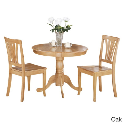 3 piece kitchen nook dining set small kitchen table and 2 kitchen chairs huge s ebay - Small kitchen nook sets ...