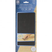 Loew Cornell, Sandpaper Pack, Coarse, Medium and Fine Grit, 2 Pack