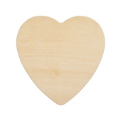 Wood Heart 22cm , Unfinished Wooden Heart Cutout Shape, Wooden Hearts (20cm - 1.3cm Wide x 0.3cm Thick) - Bag of 50